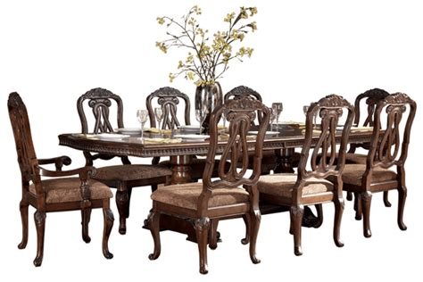 Formal Dining Set With Extendable Pedestal Table By Ashley. French Cottage Decor. 7 Piece Dining Room Sets. Cheap Decorations For Home. Badroom Decoration. Blue Decorative Pillows. Laundry Room Storage Ideas. Orlando Rooms For Rent. Lighthouse Wall Decor