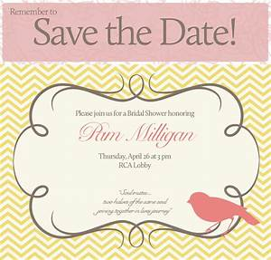 Pams bridal shower save the date bhansondesigns for Wedding shower save the date