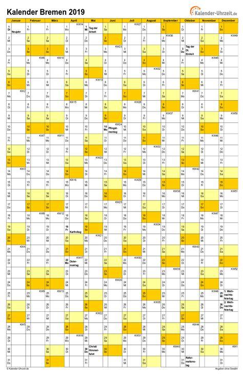 feiertage bremen kalender