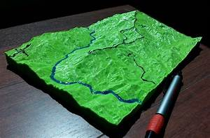 3d Topographic Map Project | www.pixshark.com - Images ...