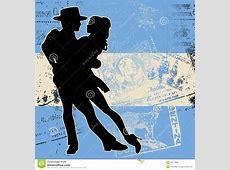 Argentine Tango stock vector Illustration of american