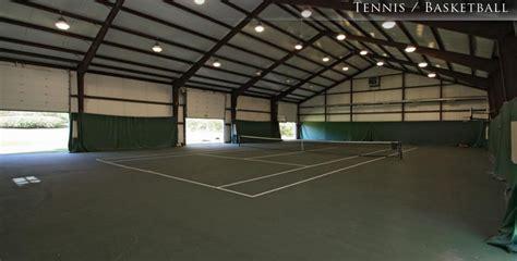 million estate  carmel   indoor tennis court