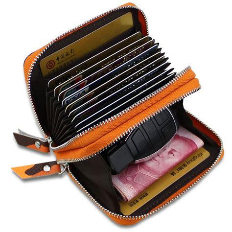 dompet kartu wanita motif kamuflase bahan kulit