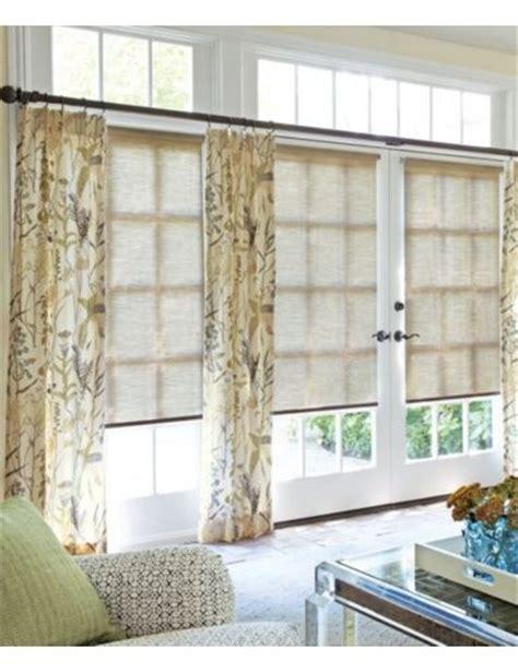 drapes shades below the transom windows