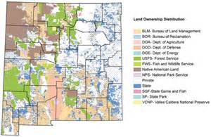 New Mexico BLM Land Ownership Maps