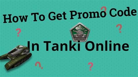 tanki onlinehow   promo code youtube