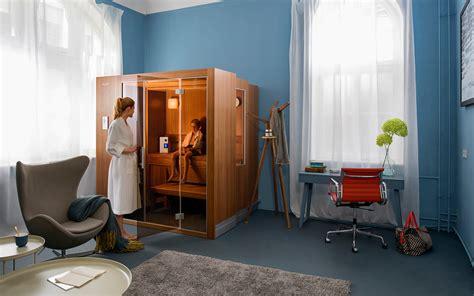 Steinofen Für Zuhause by Microsalt Das Wohltuende F 252 R Sauna Und Infrarot