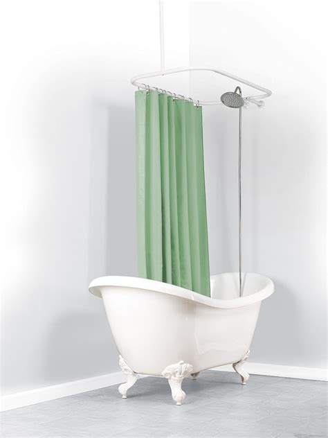 shower curtains rods and rails shower curtains plus