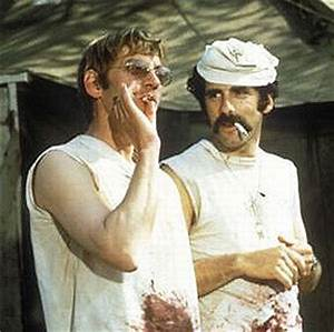 Donald Sutherland and Elliott Gould in MASH | guardian.co ...