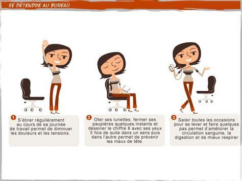 posture au bureau 10 best images about bien être au travail on