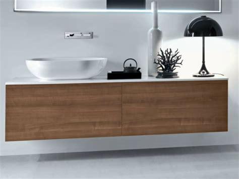 wooden bathroom units via veneto vanity unit with drawers by falper design falper design