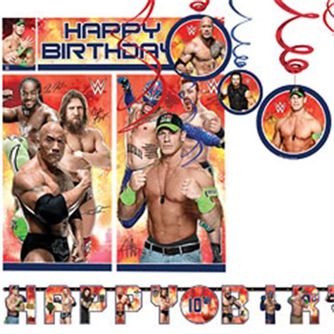 wwe party supplies wrestling party supplies party delights