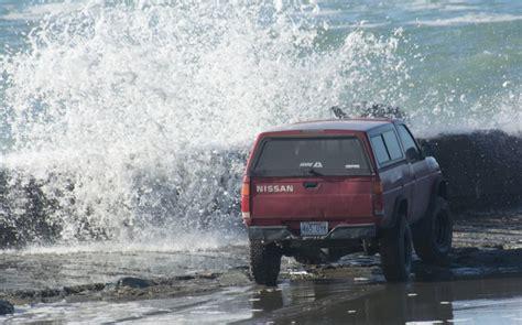 video  drove    north jetty   high