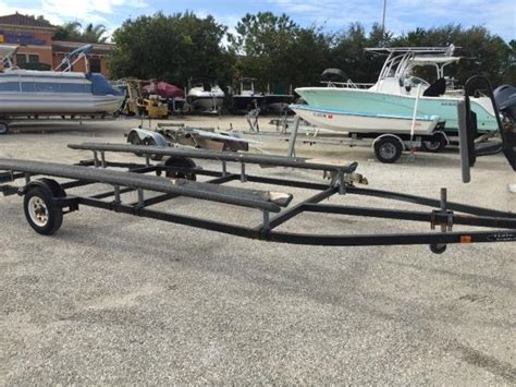 Pontoon Boat Trailers In Florida by Pontoon Trailer Boats For Sale