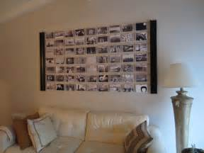 diy livingroom diy photo wall décor idea diyinspired