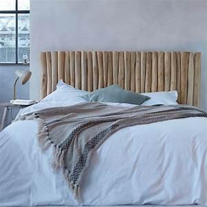 Lit Maison Bois : customiser une tete de lit en bois maison design ~ Premium-room.com Idées de Décoration