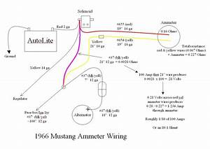 1965 Mustang Amp Meter To Gauge Hook Up  Add Your Answer