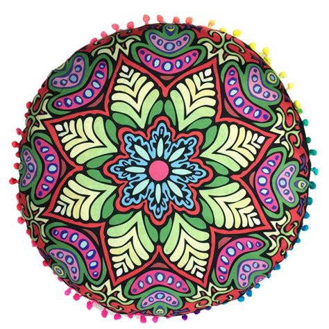 Bohemian Floor Cushions Uk by Mandala Bohemian Meditation Pillows Throw Floor