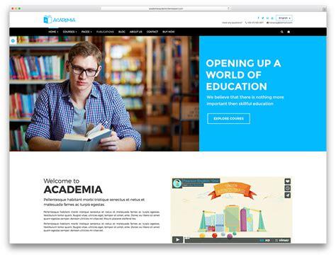 top ten wordpress themes  education websites web