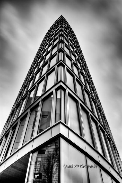 Black And White Modern Architecture Photography