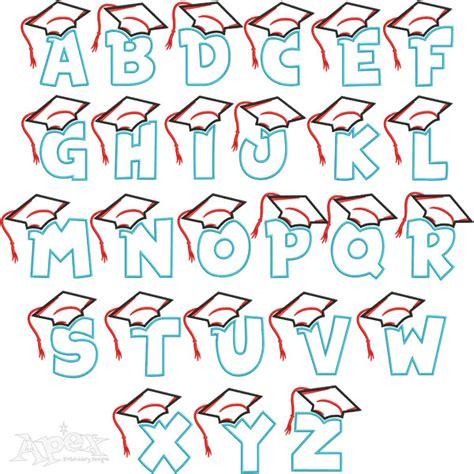 graduation celebration embroidery design