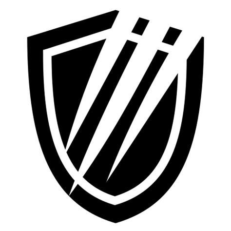 slashed shield icon game iconsnet