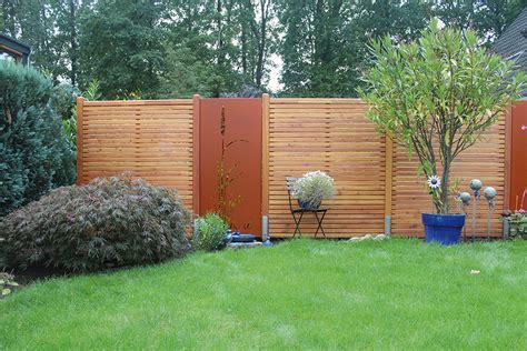 Garten Sichtschutz Holz Lärche by Holz Schr 246 Er Dingden Sichtschutz L 228 Rche Mit