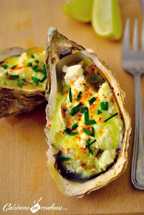 cuisiner des huitres huîtres chaudes au poireau et au chèvre frais cuisinons
