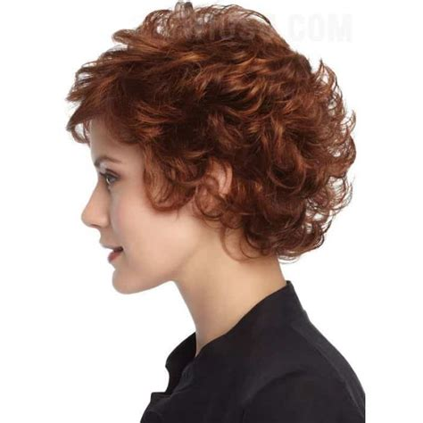 fashionable hairstyles  short curly hair