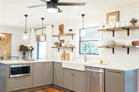 Kitchens With Open Shelving Ideas - 15 clever ways to add more kitchen storage space with open shelves hometalk