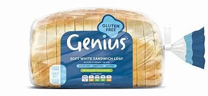Soft Bread Sandwich Loaf Genius Gluten Mushroom