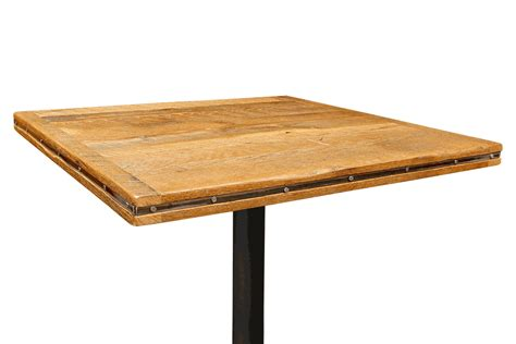 table 60x60 cuisine 30 quot x 96 quot reclaimed barn wood restaurant table top bar