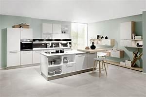 Laminatboden In Der Küche : k che mit kochinsel und sitzgelegenheit ~ Lizthompson.info Haus und Dekorationen
