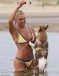 Yolanda Hadid, 55, looks stunning in bikini as she plays ...