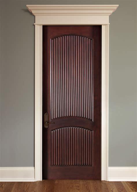 interior door custom single solid with mahogany finish classic dbi 580a