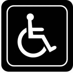 Printable Handicap Symbol Sign