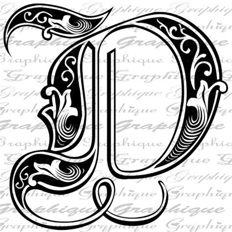 letter initial  monogram  engraving style type text letter  pinterest texts style