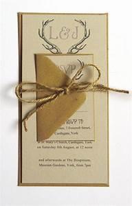 rustic antler winter woodland wedding invitation With rustic stag wedding invitations