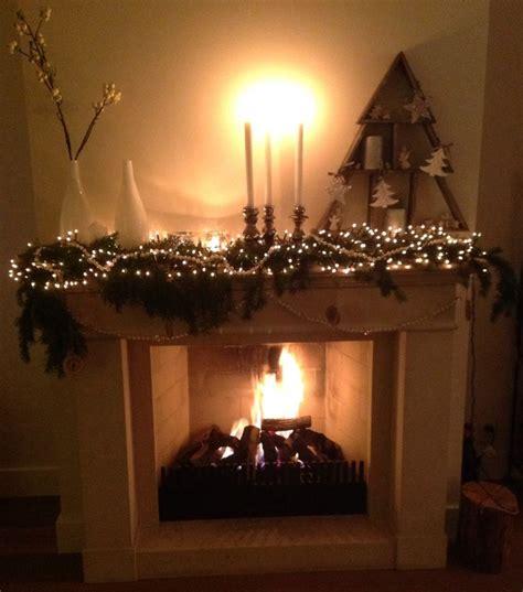 Schouw Kerstversiering kerst schouw christmas mantle interieur idee 235 n