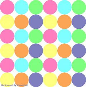 Pastel Polka Dot Wallpaper