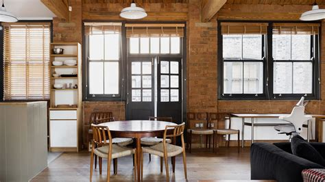 victorian warehouse turned apartment  surprisingly cozy