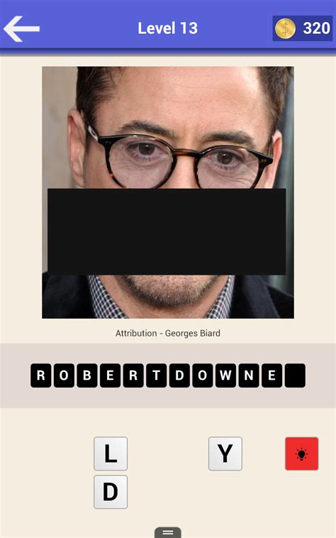 Who am I? Guess the Celebrity Quiz - Picture Puzzle Game ...