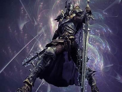 Knight Death Fantasy Wallpapers Digital 3d Warrior