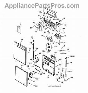 Brand New Ge Dishwasher Door Switch Part   Wd21x10042