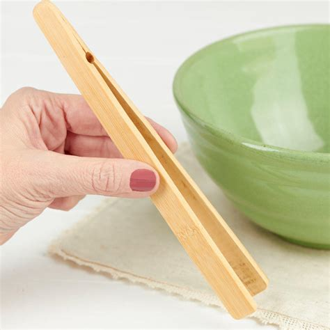bamboo kitchen accessories bamboo tongs kitchen utensils kitchen and bath home 1461