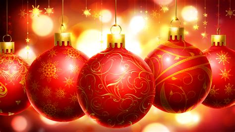 merry christmas christmas decorations red hd wallpaper for