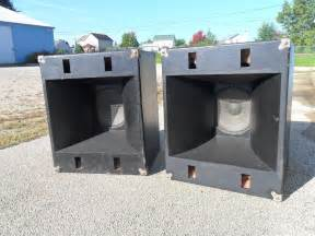 Vintage JBL PA Speaker Cabinets