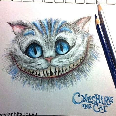 cheshire cat drawing art pinterest