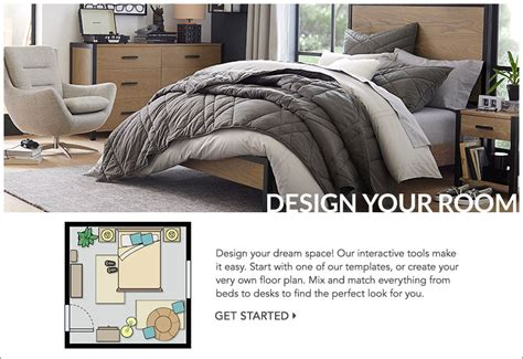 Room Planner Pbteen by Design Your Own Room Pottery Barn