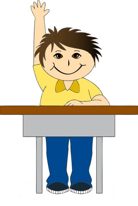 boy student working clipart clipart children in school desks clipground